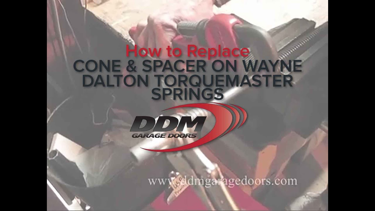How To Replace The Cone And Spacer On A Wayne Dalton Torquemaster