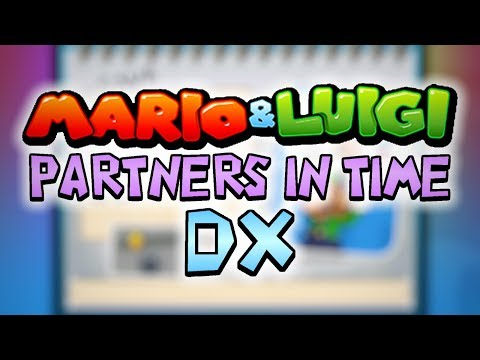 mario and luigi partners in time dx