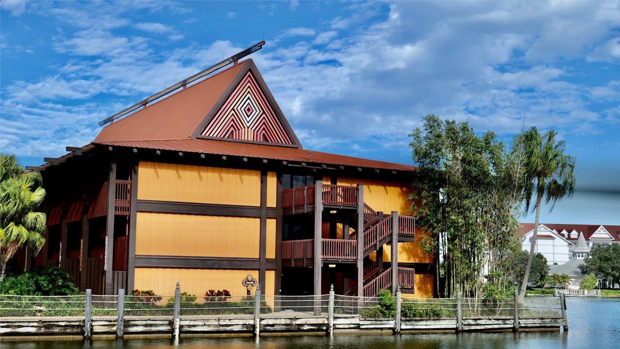A Morning at Disney's Polynesian Resort - Filmed in 5K   Magic Kingdom Resort Walt Disney World