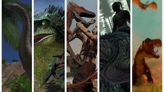 5 Random Dinosaur Games on Steam