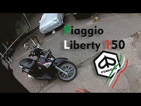 Test Ride Piaggio Liberty 150