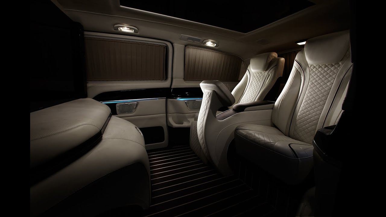 Meet The Mercedes Benz Metris Luxury Van