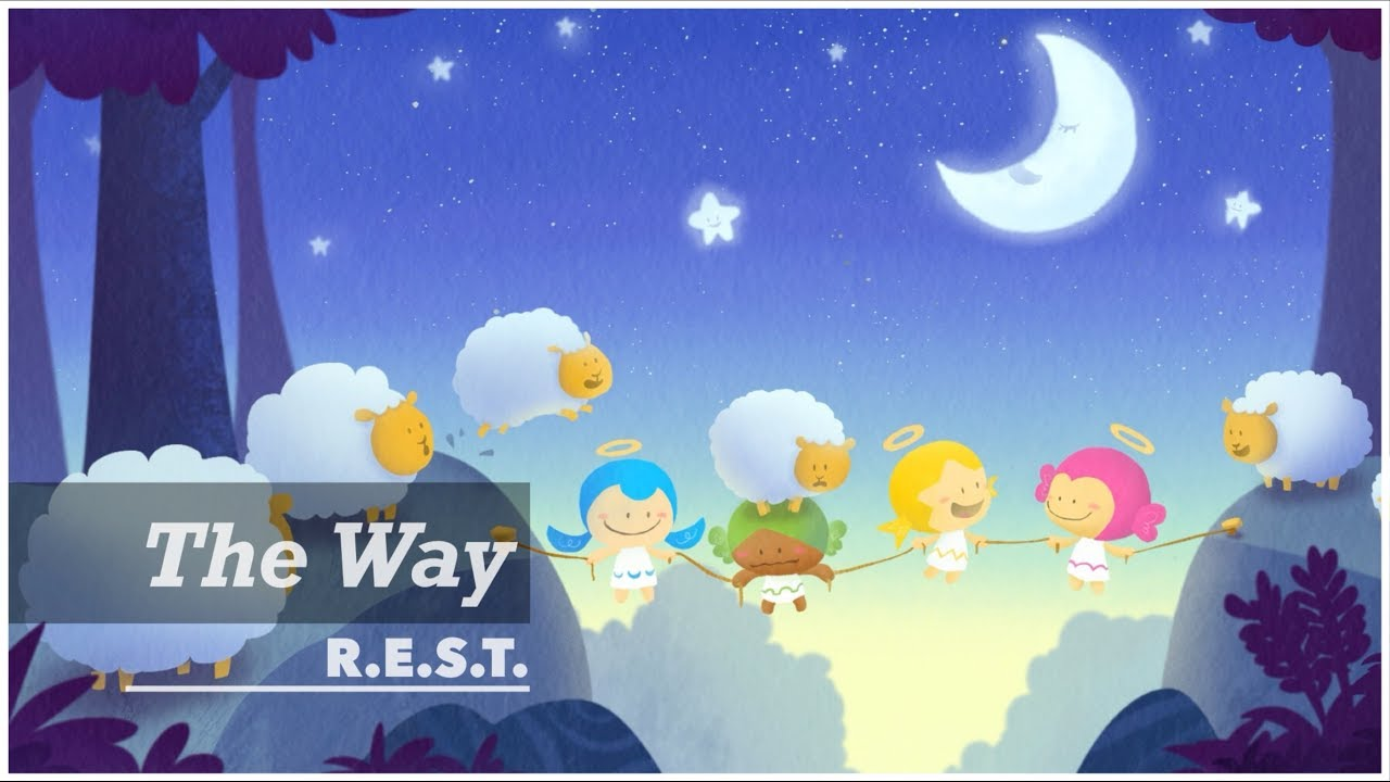 The Way | REST project | Relax, Piano, Meditation, Music, ASMR, Peace, Angel, Illustration