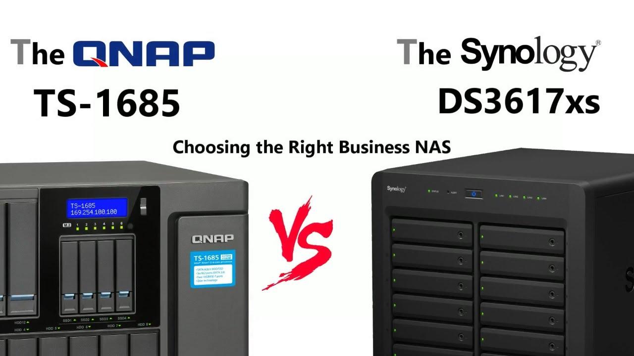 Synology Vs QNAP - The DS3617xs Vs The TS-1685 - Powerhouse 12-bay