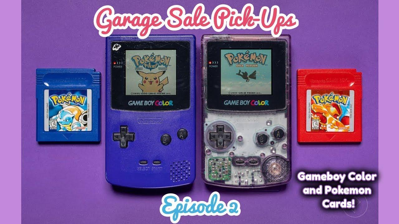Garage Saleing Pick-Ups - Episode 2 - Gameboy Color and Pokemon!!