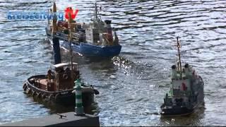 Modellboot- Schaufahren am Silbersee