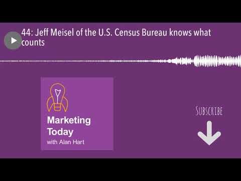 44: Jeff Meisel of the U.S. Census Bureau knows what counts
