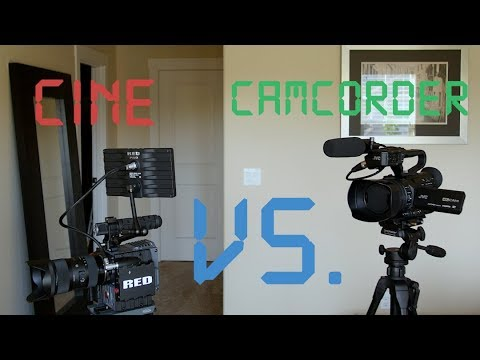 Digital Cinema Vs. Pro Camcorder: Which one to Get
