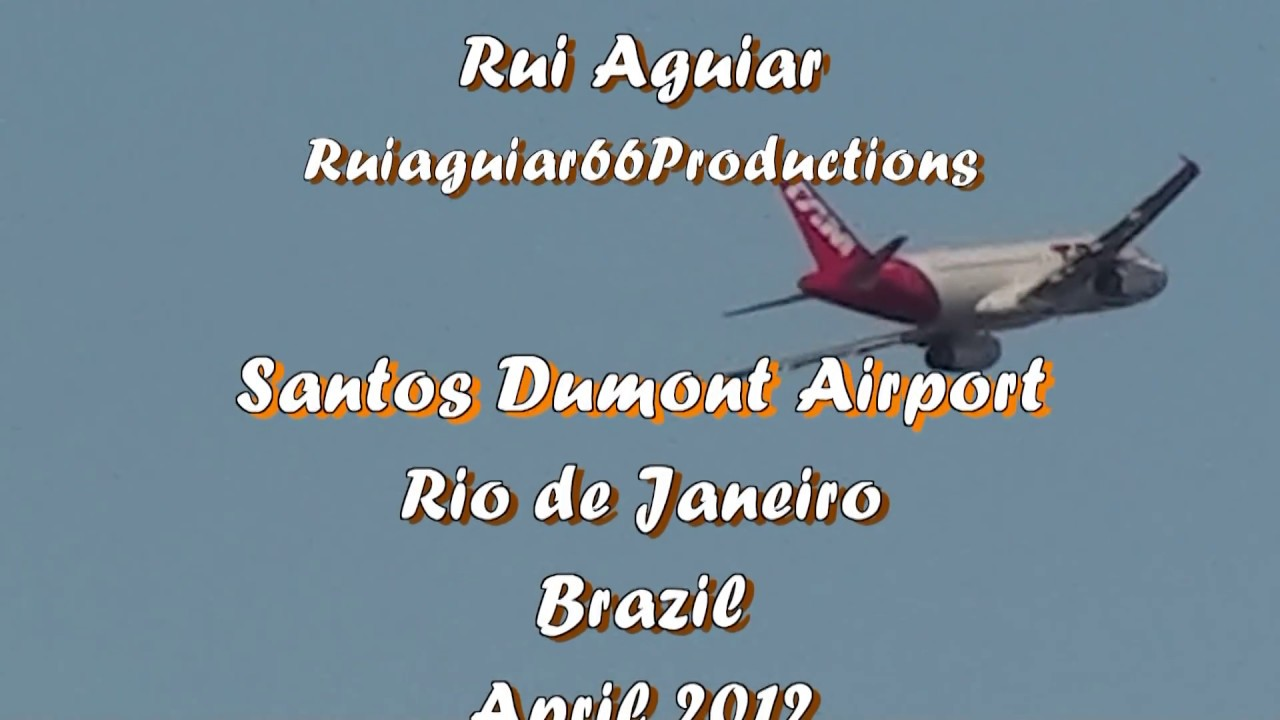 Aeroporto Rio De Janeiro : Aeroporto santos dumont pousos e decolagens rio de