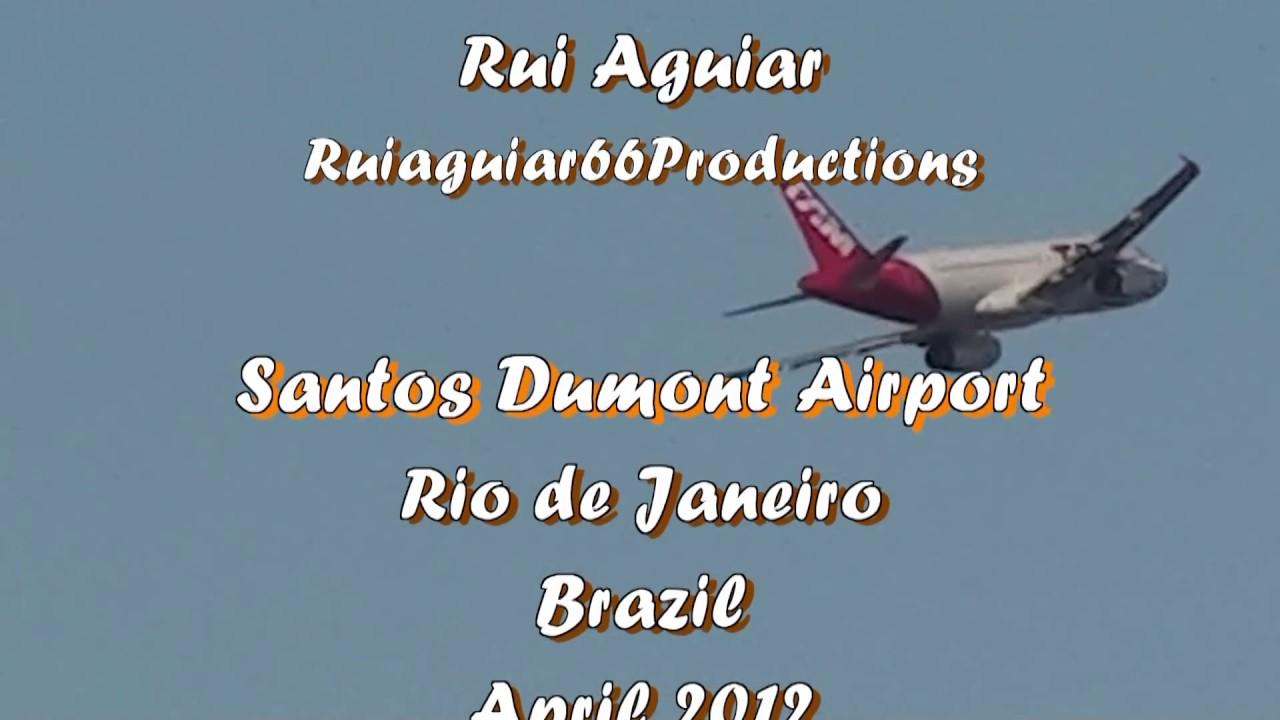 Aeroporto Santos Dumont : Aeroporto santos dumont pousos e decolagens rio de