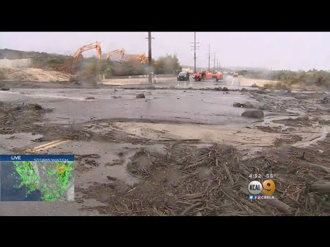 90-Year-Old Man, Others Rescued After Storm Floods Lake Elsinore Roads