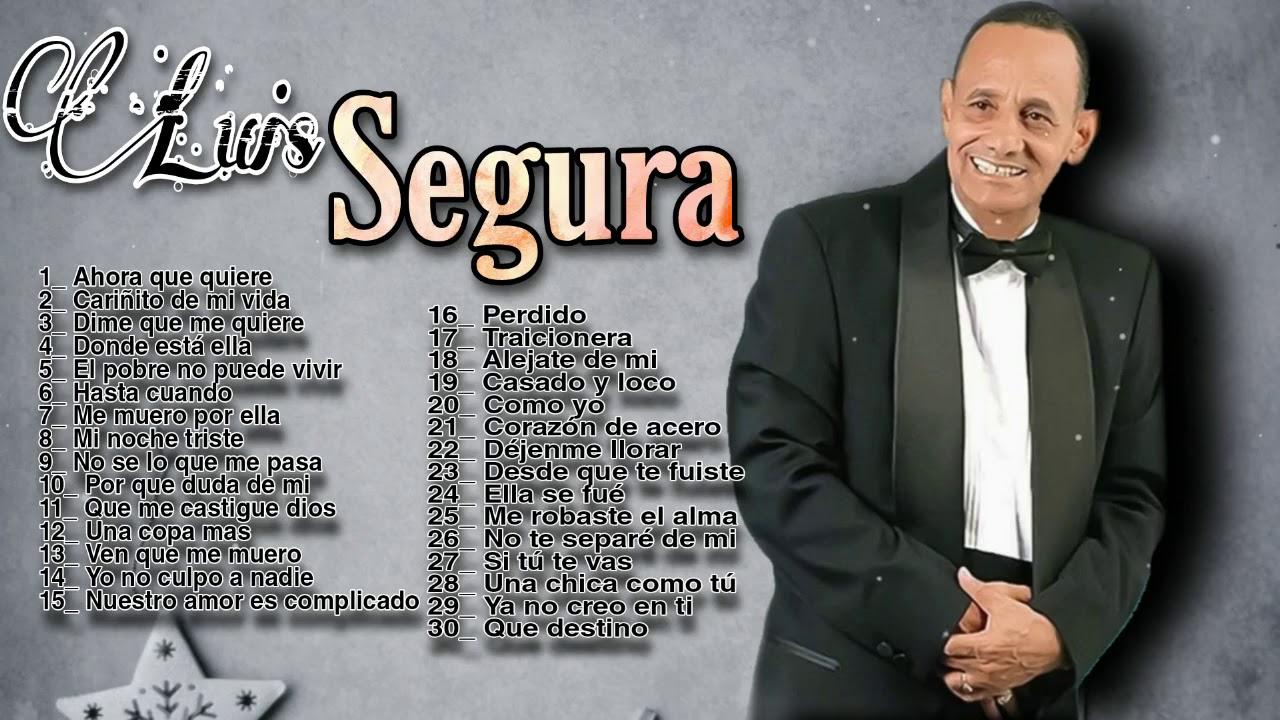 Download Luis Segura - Mix de sus mas Grande Exitos desde sus Inicio 1970