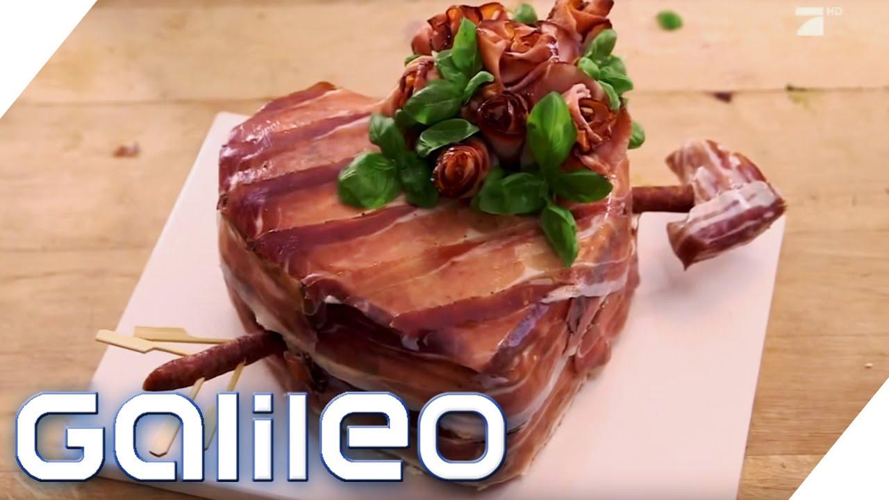 Jumbo bckt Fleischtorte vom Metzger  Galileo