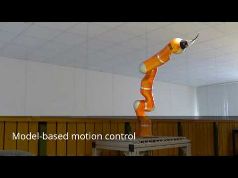 Modeling, parameter identification and model-based control of a robotic manipulator