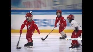 Чемпионы мира по бенди провели мастер-класс для восьмилетних хоккеистов