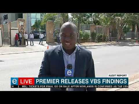 Audit report | Premier releases VBS findings
