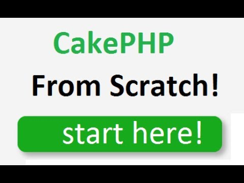 CakePHP 3.4 tutorial for beginners step by step - 2.5 - Migrations, CRUD, Database with CakePHP