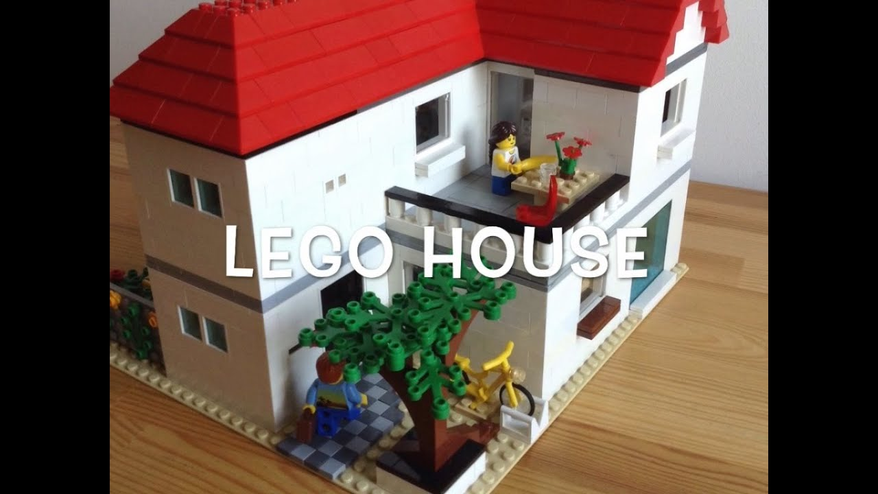 Lego moc 2 story house youtube for How to frame a two story house