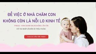 Kiếm Tiền Online Không Cần Bỏ Vốn Với Sàn Thương Mại Điện Tử PingGo   Thu Nhập Đến 30 Triệu/Tháng