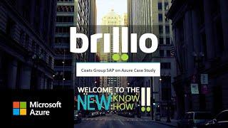 Brillio and Coats: Customer success story with SAP HANA on Azure