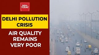 Delhi Air Quality Remains In 'Very Poor' Category Due To Unusually High Farm Fires | India Toda