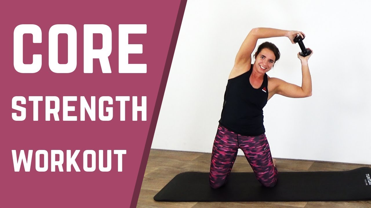 10 Minute Core Strength Workout – Core Strengthening Exercises - YouTube