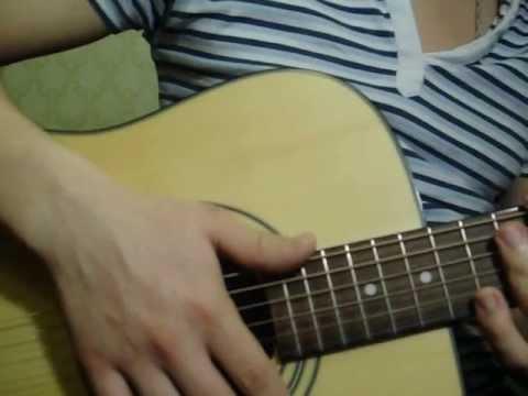Крутой гитарный бой.