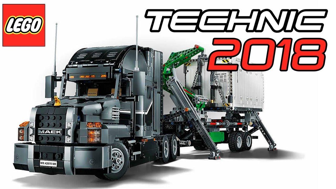 new 2018 lego technic mack truck set 42078 official. Black Bedroom Furniture Sets. Home Design Ideas