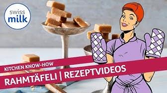 Metas Classics: Wie kann man Rahmtäfeli selber machen?   Rezeptvideo   Swissmilk (2010)