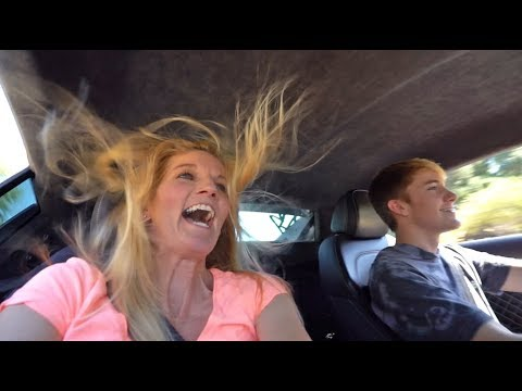 MOM REACTS TO AUDI R8 LAUNCH! *SUPERCAR*