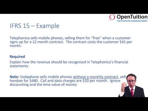 Revenue - recognition - ACCA Financial Reporting (FR)