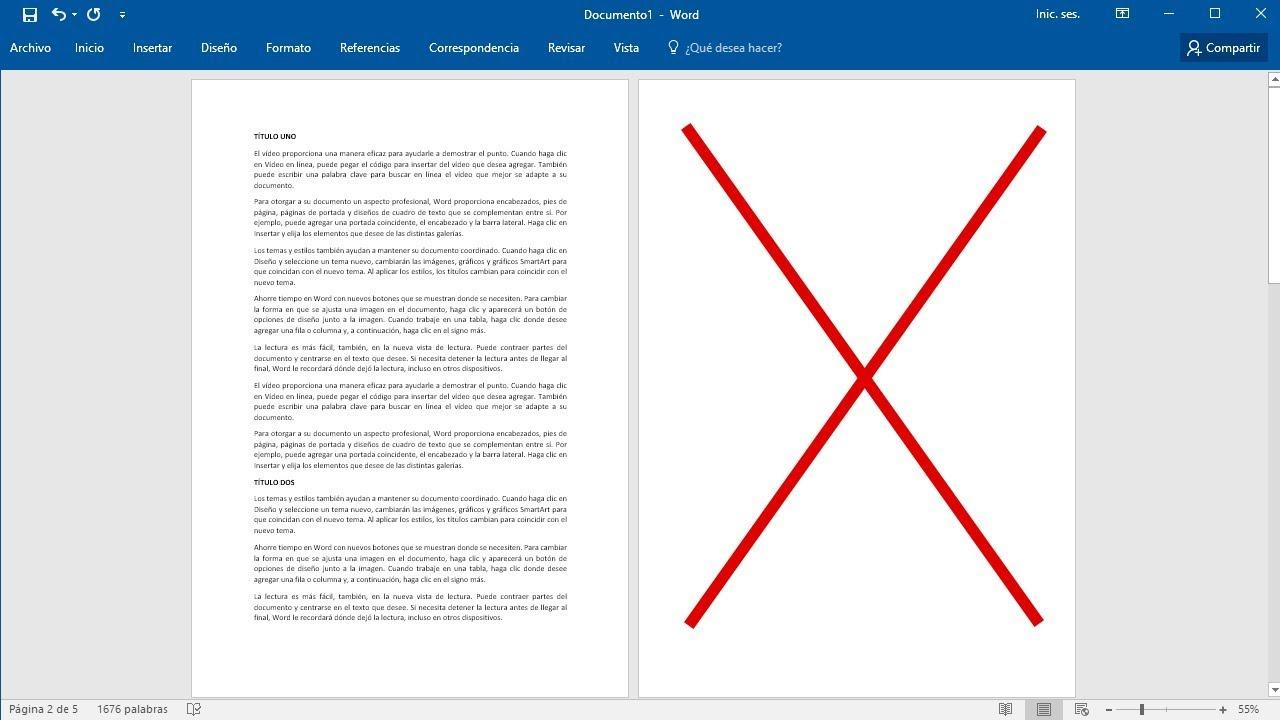 Como eliminar una hoja en blanco en Word - YouTube