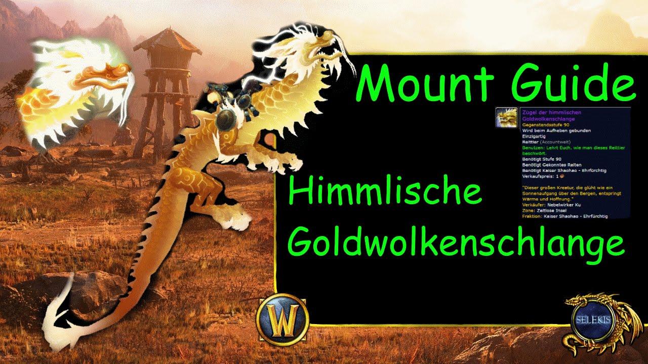 Wod Mount Guide 5 Himmlische Goldwolkenschlange Youtube