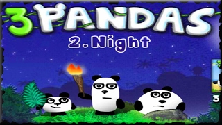 3 Pandas 2 Night Full Game Walkthrough All Levels