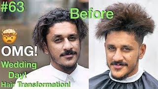 Wedding Day 2019 Amazing Hair Transformation (Hochzeit) Haar stylen für Männer