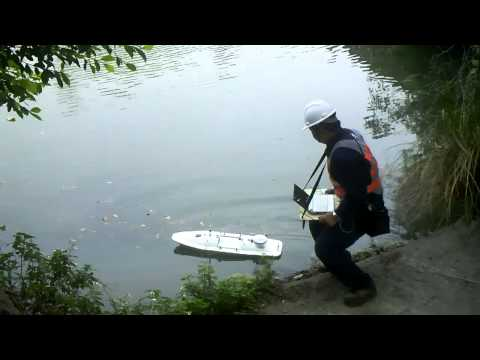 Hydrographic Survey Remote Controlled Boat