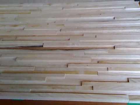 Parete incerta youtube - Rivestire parete con legno ...