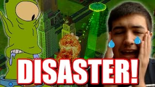 SimCity Buildit! | DESTROYING MY CITY! | Sim City Buildit Let's Play Part 3 - The Sims Game!