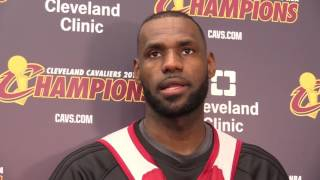 Lebron james says his son is better than he was at 12