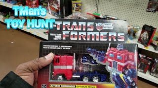 Operation: $7 G1 Hot Rod + CHILL Unboxing Demo: TMan's TOY HUNT #160