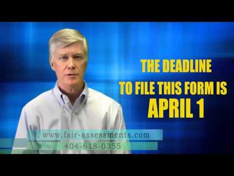 Property Tax Return Deadline- Atlanta, Georgia 404-618-0355