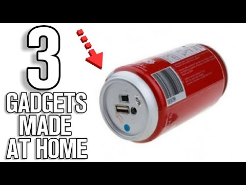 3 Incredible Gadgets Made At Home!