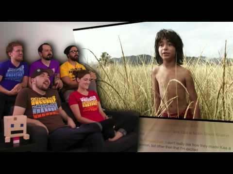 The Jungle Book Teaser Trailer!