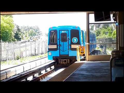TTC SRT203 | TTC Line 3 Scarborough RT Trains with Destination Signs on
