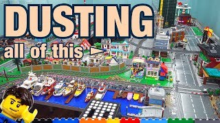 How I clean Dขst from my LEGO City layout (2019)