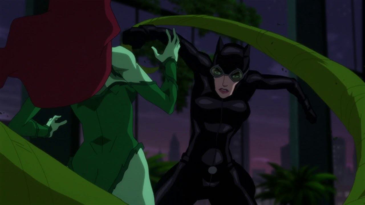 Batman Hush Catwoman Vs Poison Ivy Youtube