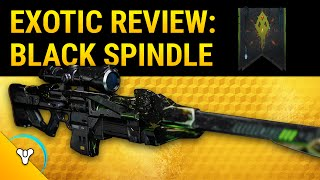 Destiny Taken King: Black Spindle Exotic Weapon Review (Black Hammer 2.0)