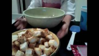 Cooking Segment #1:how To Make A Healthier  Bananas Foster Bread Pudding