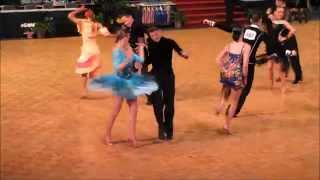 Filip and Misha, JIVE Youth Latin, NDCA US National Dancesport Championships, March 2014