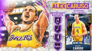 GALAXY OPAL ALEX CARUSO GAMEPLAY! ITS CARUSHOW TIME! NBA 2k20 MyTEAM